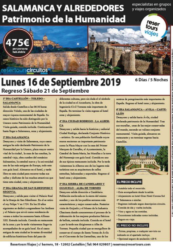 SALAMANCA Y ALREDEDORES 160919-01
