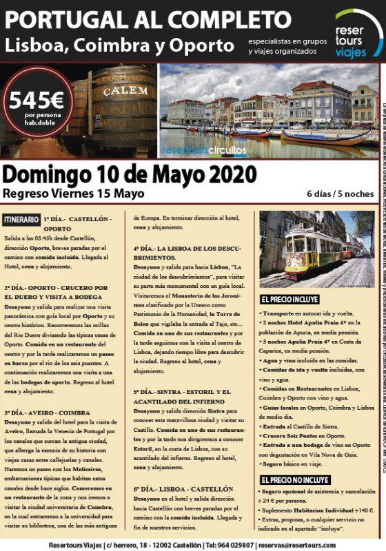 PORTUGAL AL COMPLETO100520-01